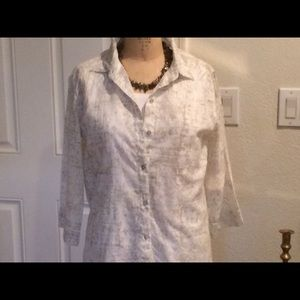 Chico's size 1 blouse